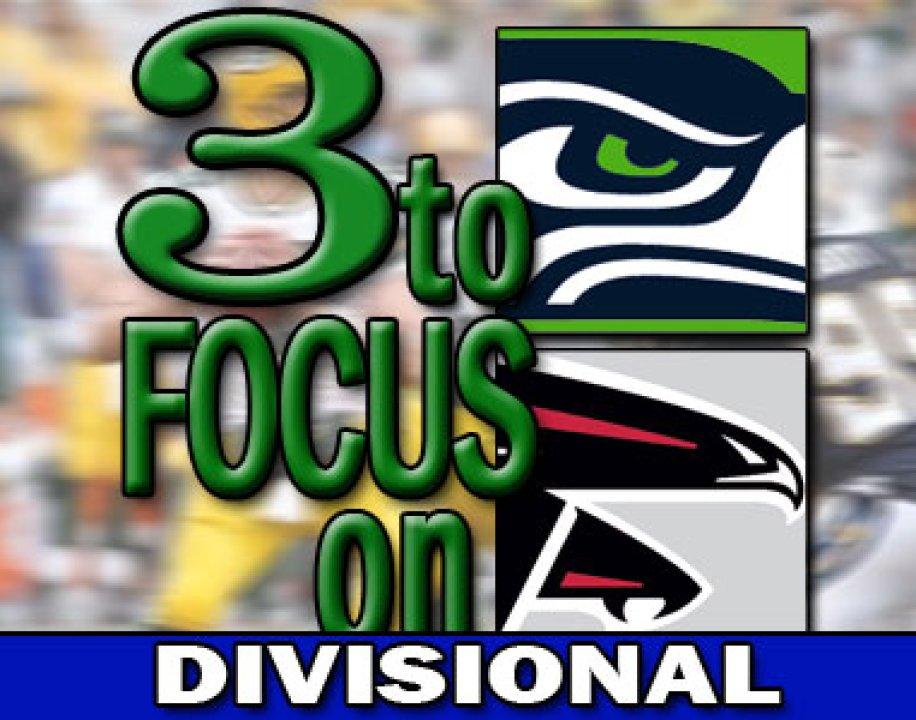 3TFO: Seahawks @ Falcons, NFC Divisional | PFF News & Analysis | Pro