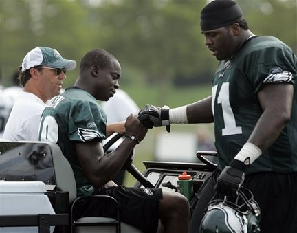 Jeremy Maclin, Jason Peters