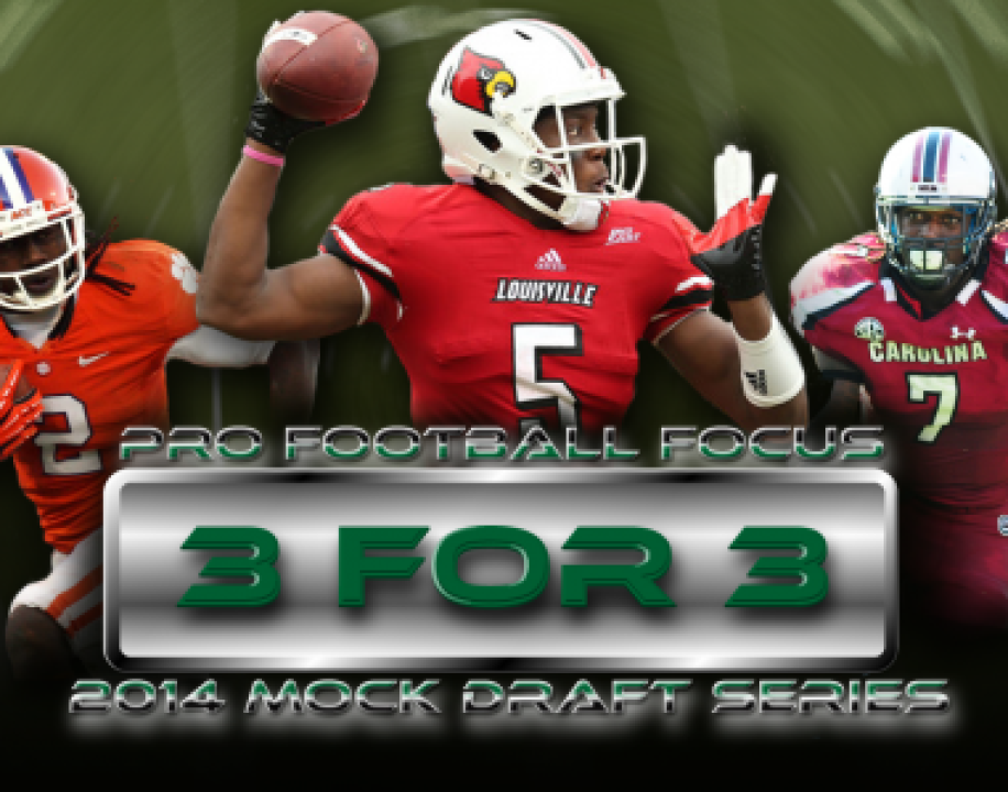 3 for 3 Mock Draft No. 1 - Post-Combine bcff14c7a