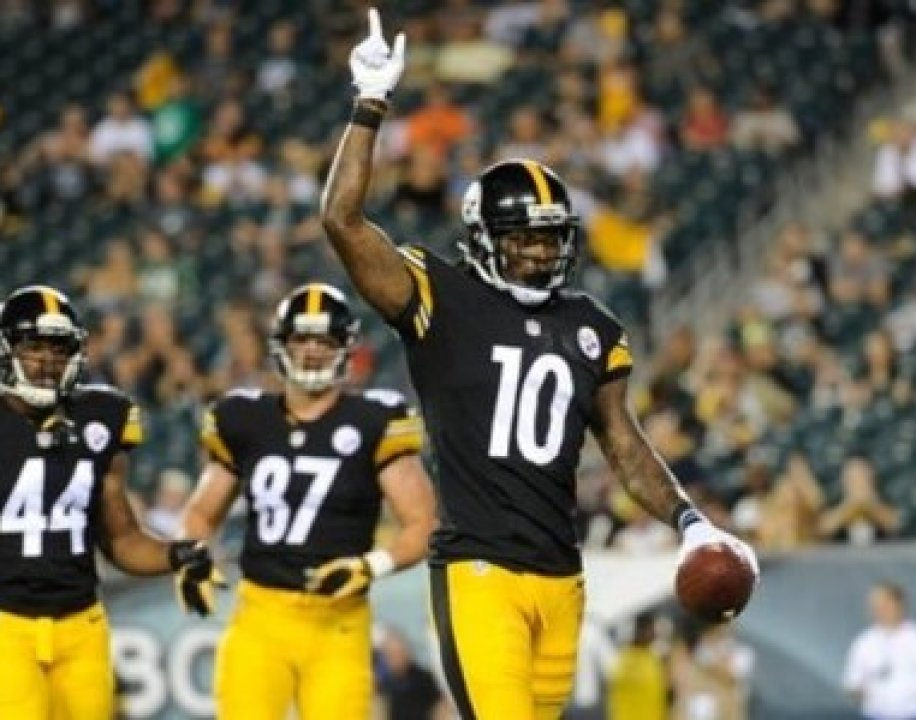 Pittsburgh Steelers  Martavis Bryant reacts after a touchdown during the  second half of an NFL preseason football game against the Philadelphia  Eagles 7ffe94588