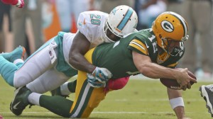 Green Bay Packers v Miami Dolphins