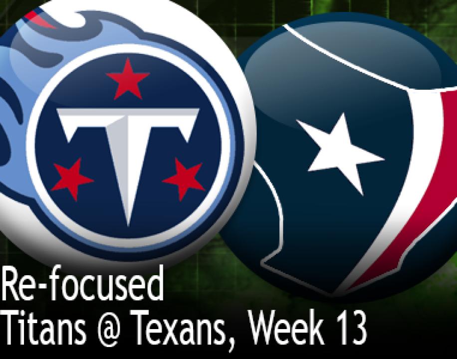 a25b678e ReFo: Titans @ Texans, Week 13 | PFF News & Analysis | Pro Football ...