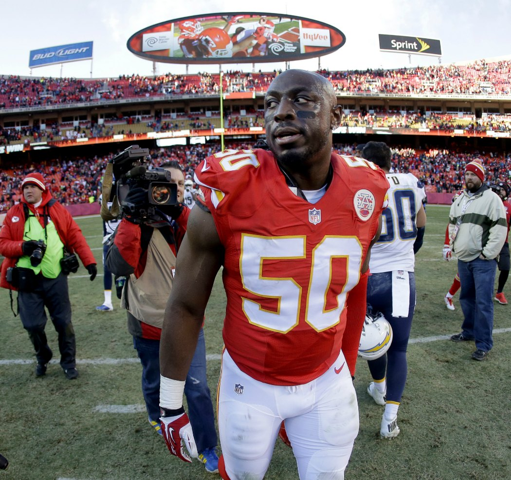 Justin Houston is the NFL s best edge rusher right now