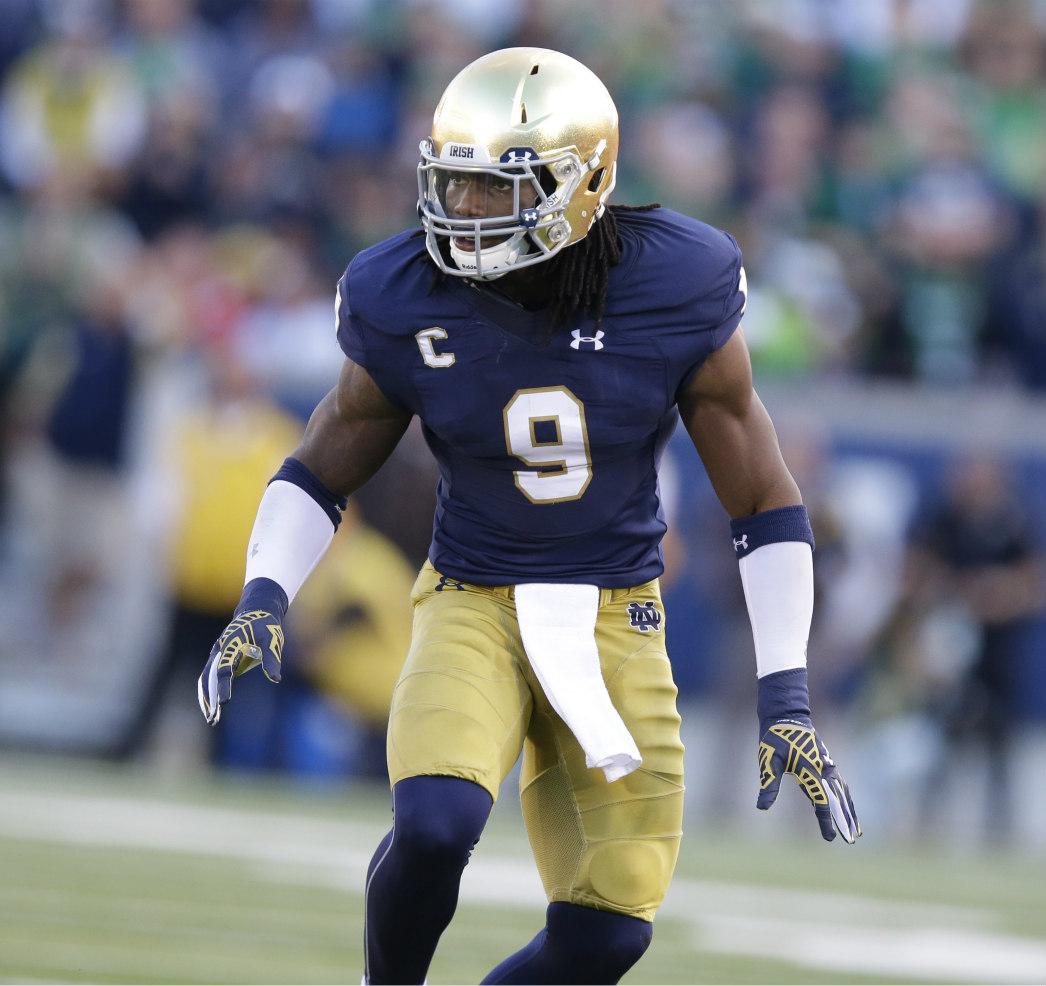 Jaylon Smith, Sheldon Day anchor Notre Dame defense   PFF News ...