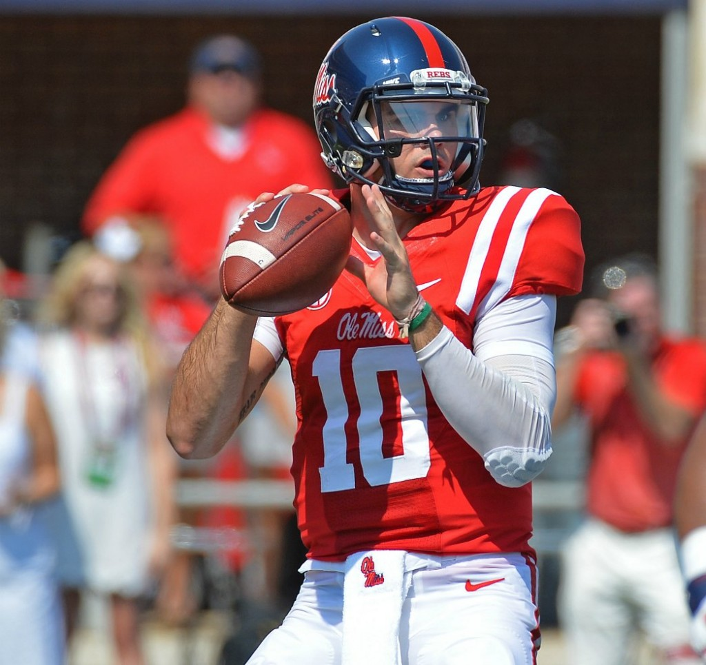 Ole Miss Georgia Grades Chad Kelly Wrs Stand Out Pff