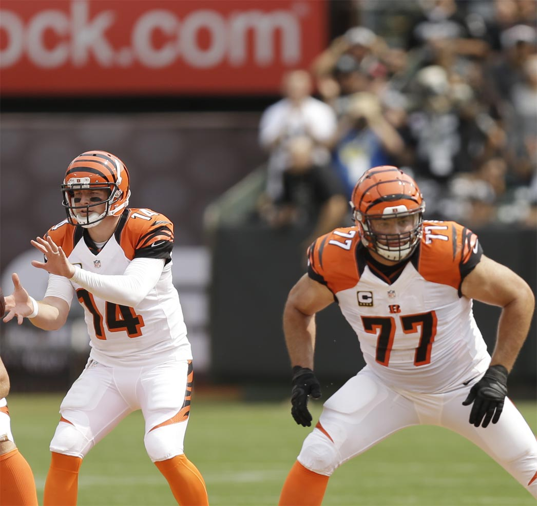 SD CIN Bengals offensive line posts shutout in win