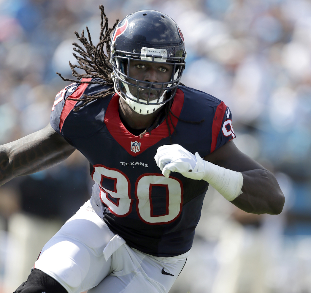Jadeveon Clowney Helping Fuel Houston S Playoff Run Pff