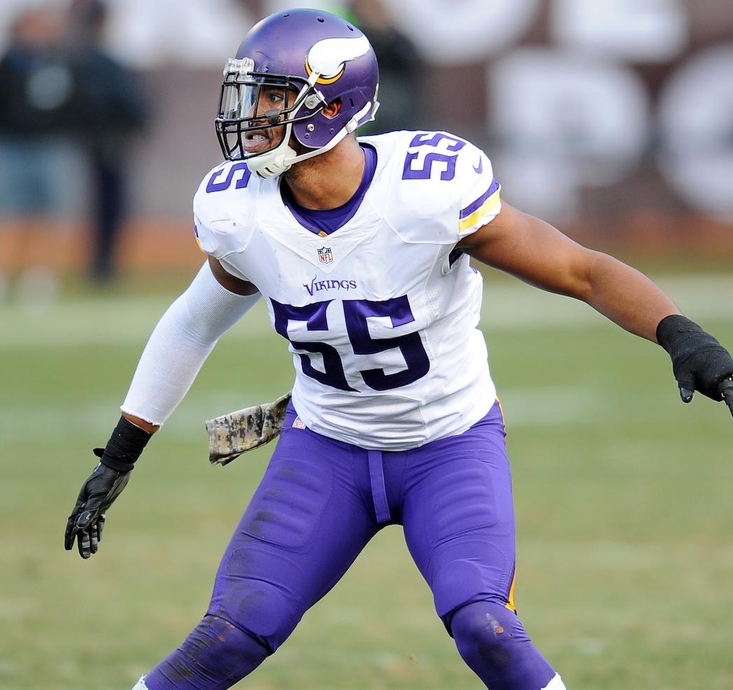 Anthony Barr Minnesota Vikings SLB NFL and PFF stats