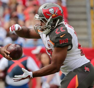 Buccaneers RB Doug Martin