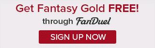 Free Fantasy Gold Fanduel Offer