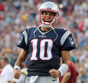 Patriots QB Jimmy Garoppolo