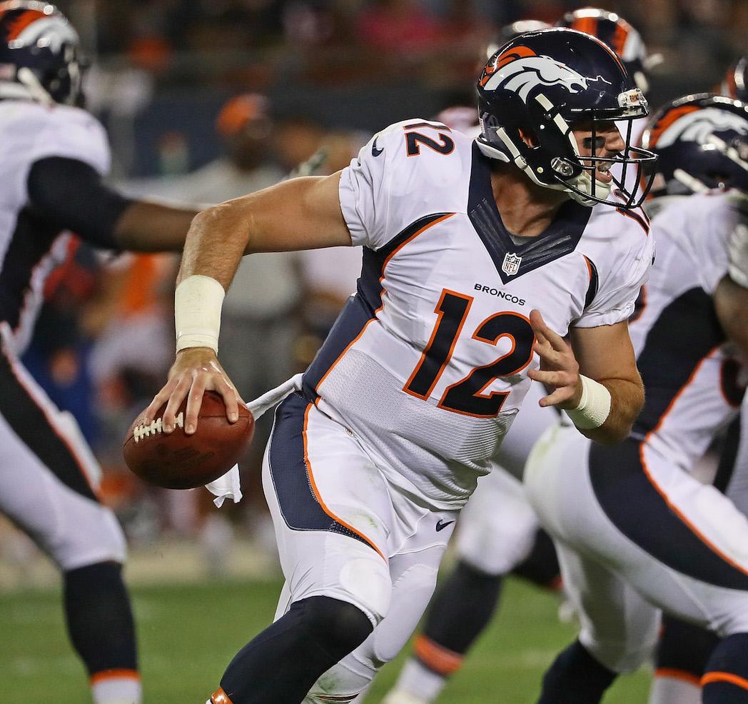 Denver Broncos QB Paxton Lynch
