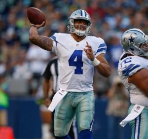 Cowboys QB Dak Prescott
