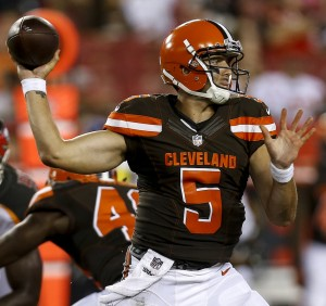 Browns QB Cody Kessler