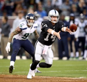 Raiders QB Matt McGloin