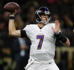 Ravens QB Ryan Mallett