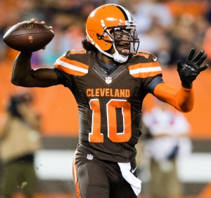 Browns QB Robert Griffin III