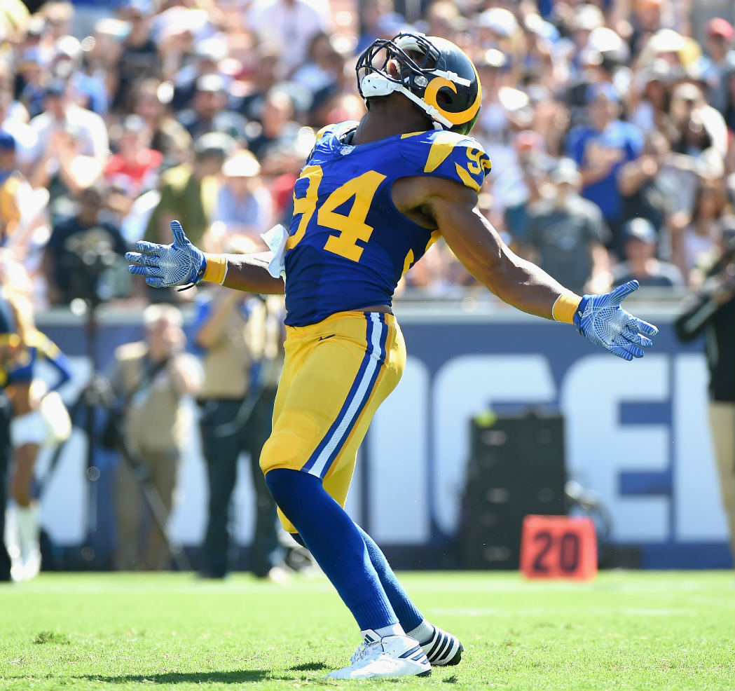 Robert Quinn Los Angeles Rams LOLB NFL and PFF stats