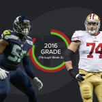 Joe Staley vs. Frank Clark
