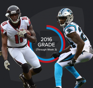 Julio Jones v James Bradberry