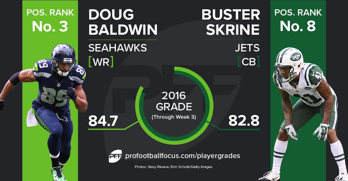 Doug Baldwin vs Buster Skrine