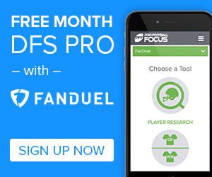 Free Month DFS PRO with Fanduel