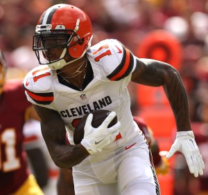 Browns WR Terrelle Pryor