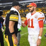 Ben Roethlisberger and Alex Smith