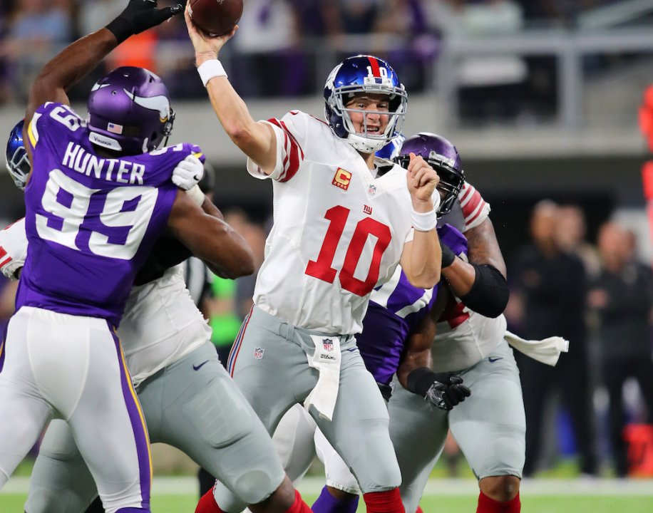 4ce0cd62f3b Eli Manning s struggles against Vikings continue