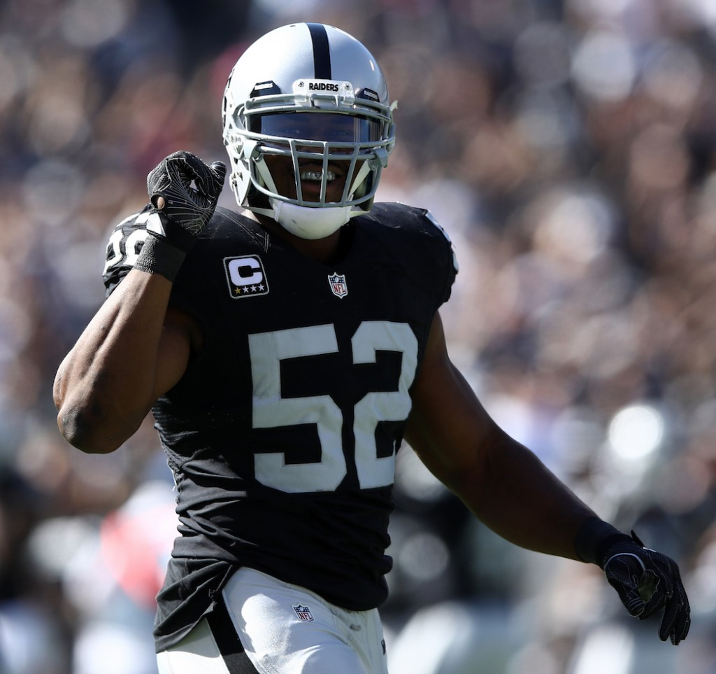Raiders OLB Khalil Mack