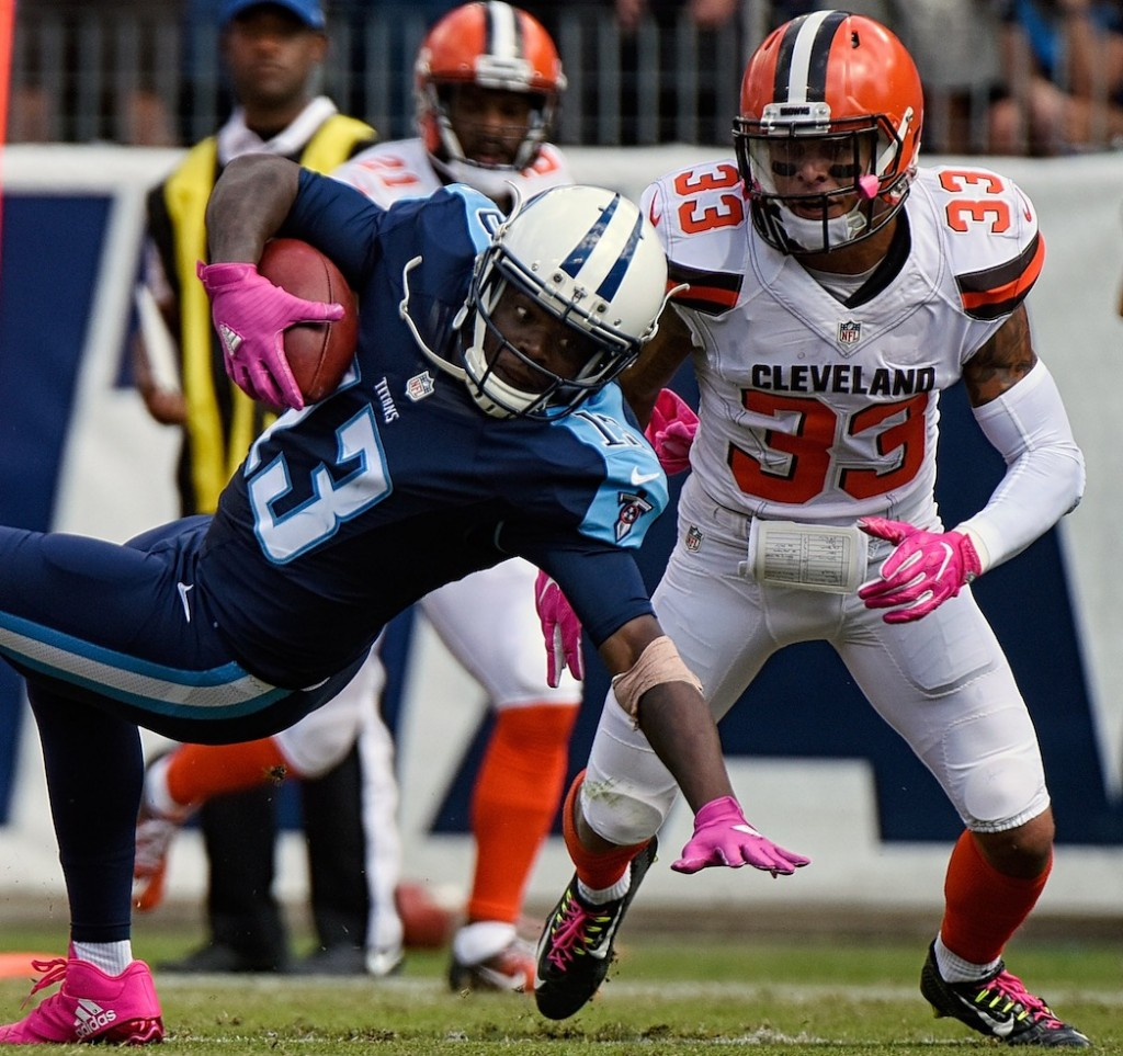 Titans WR Kendall Wright