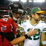 Matt Ryan and Aaron Rodgers