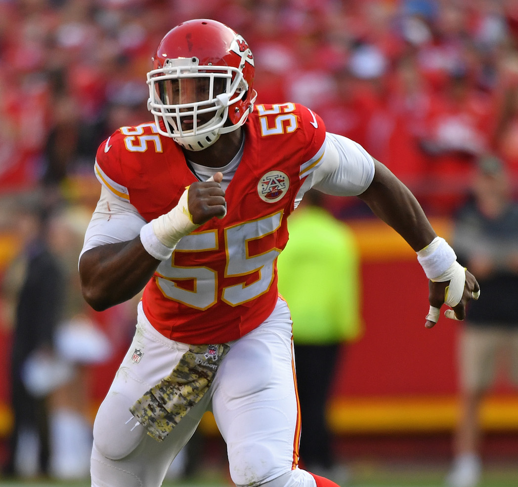 Dee Ford Kansas City Chiefs ROLB NFL and PFF stats