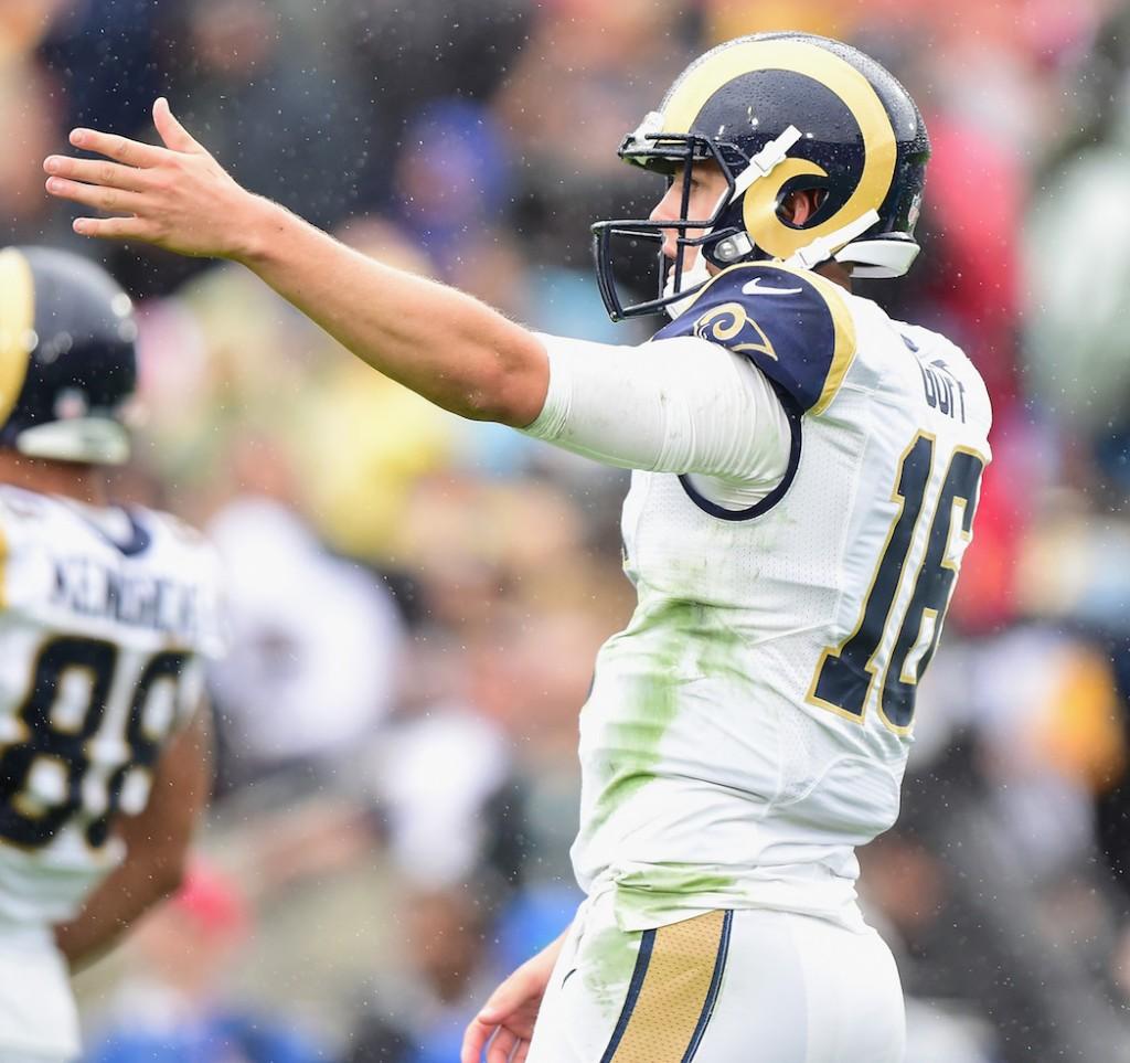 Rams QB Jared Goff