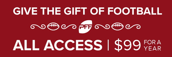 PFF fantasy football gifts