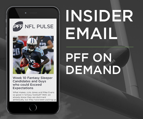 PFF Insider Email