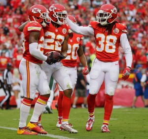 Eric Berry, Marcus Peters, Ron Parker