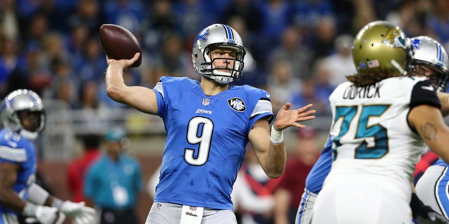 Detroit Lions QB Matthew Stafford