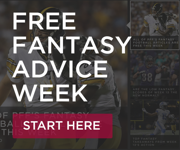 Fantasy free advice week