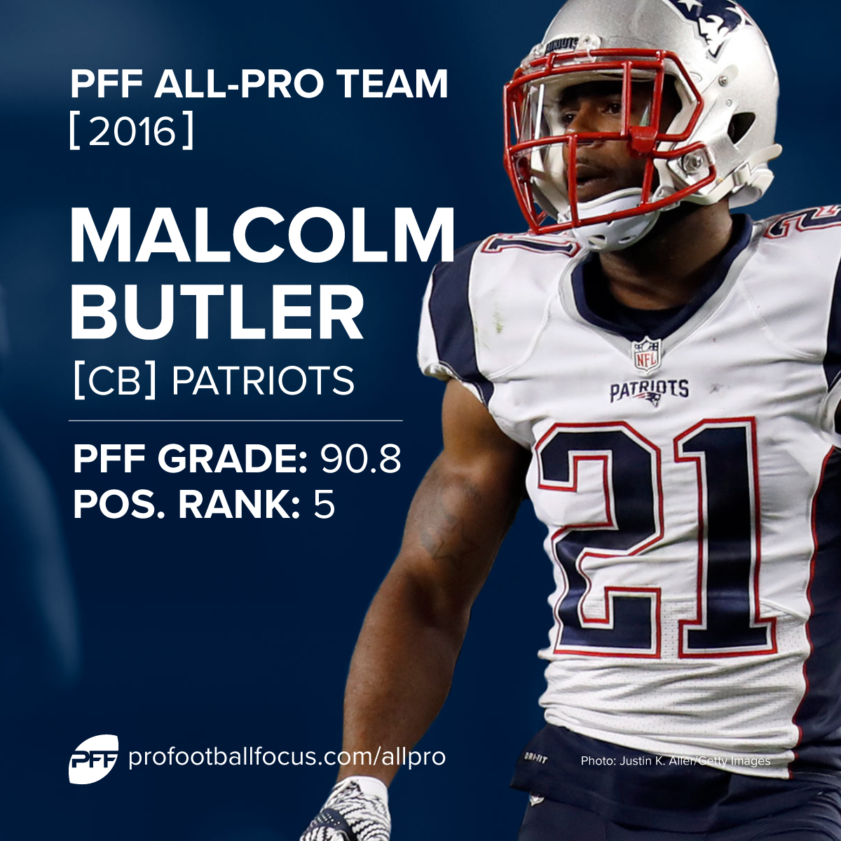 Malcolm Butler 2016 All-Pro