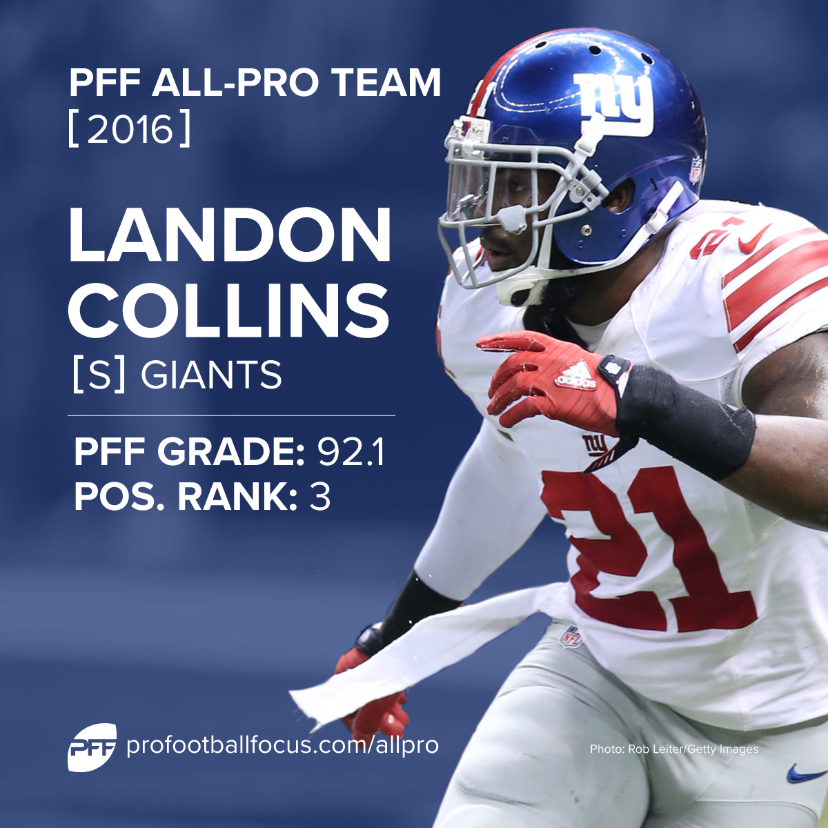 Landon Collins PFF All-Pro
