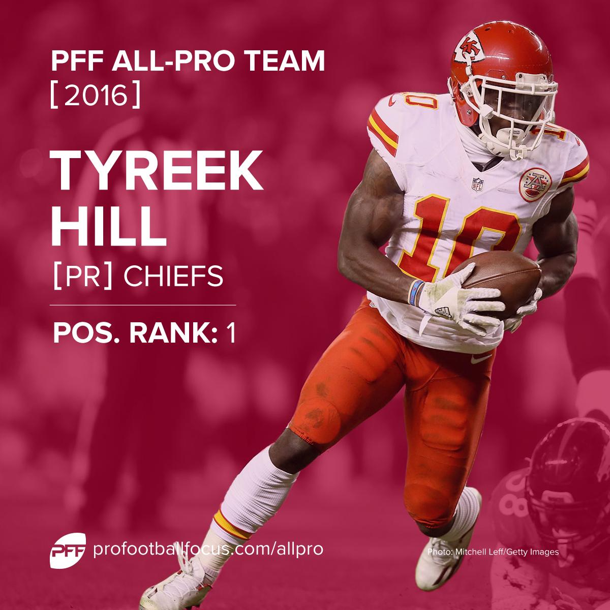 Tyreek Hill PFF All-Pro
