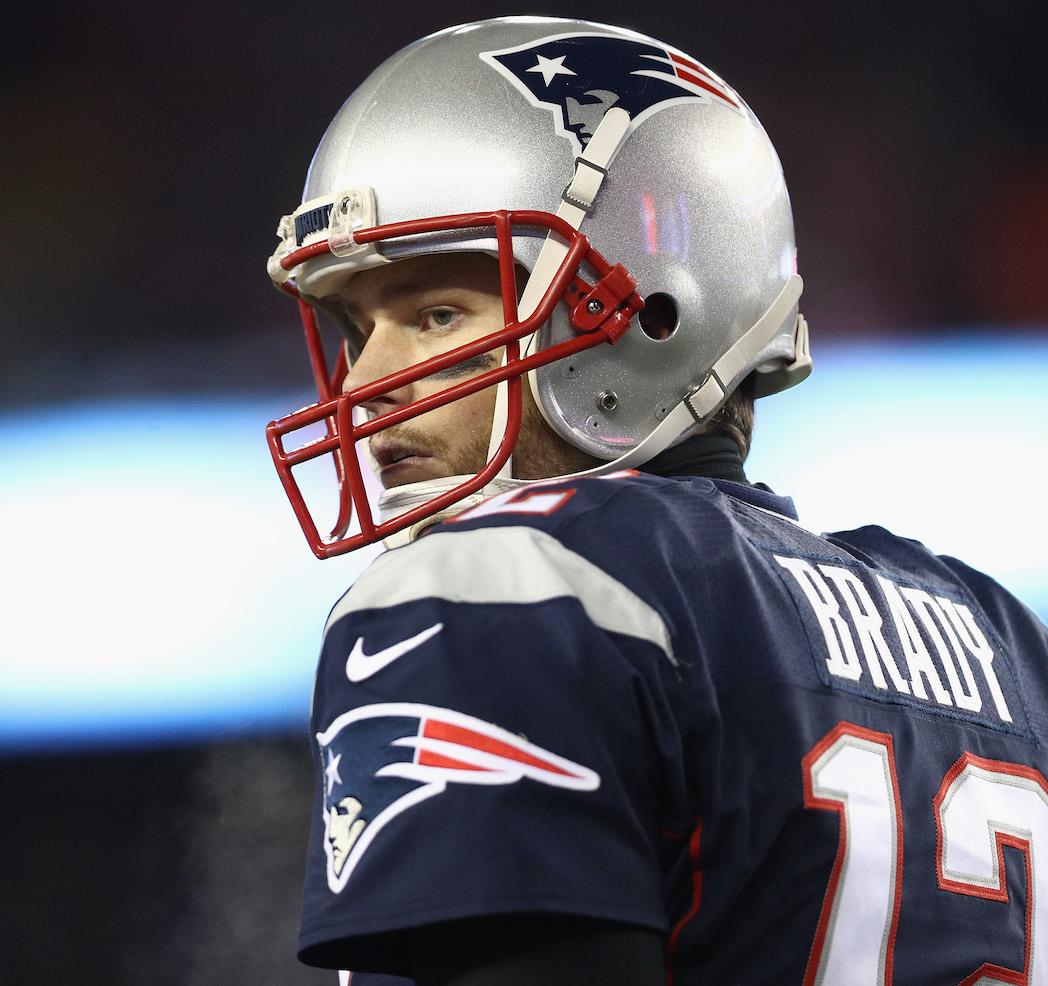 New England Patriots QB Tom Brady