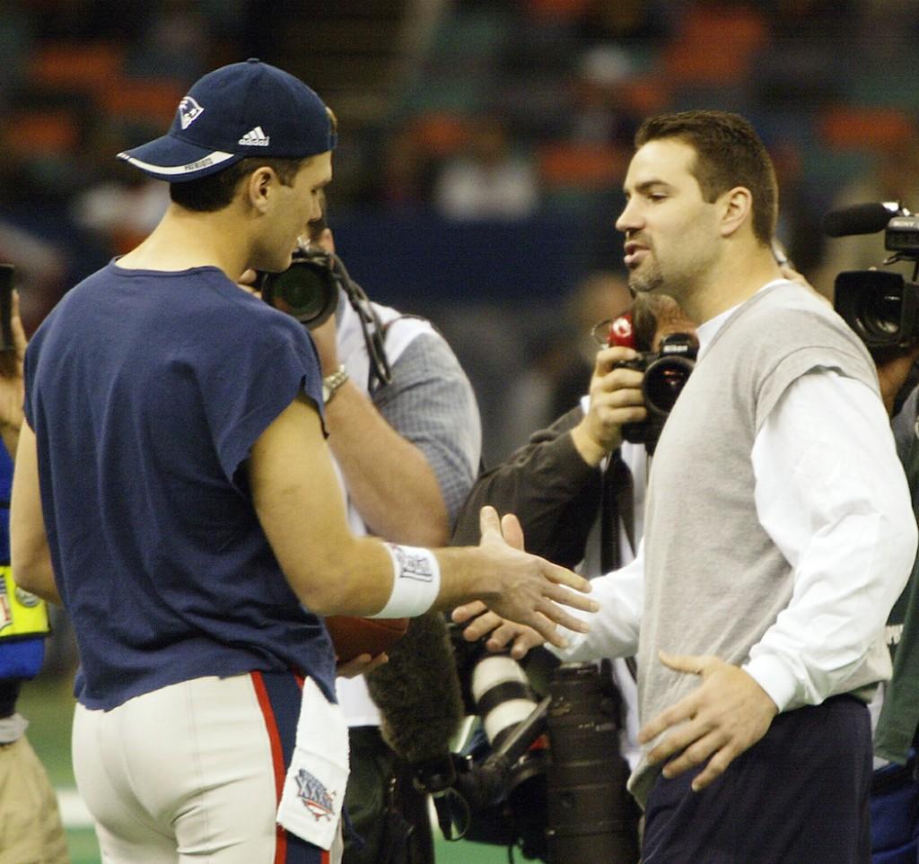 Tom Brady, Kurt Warner