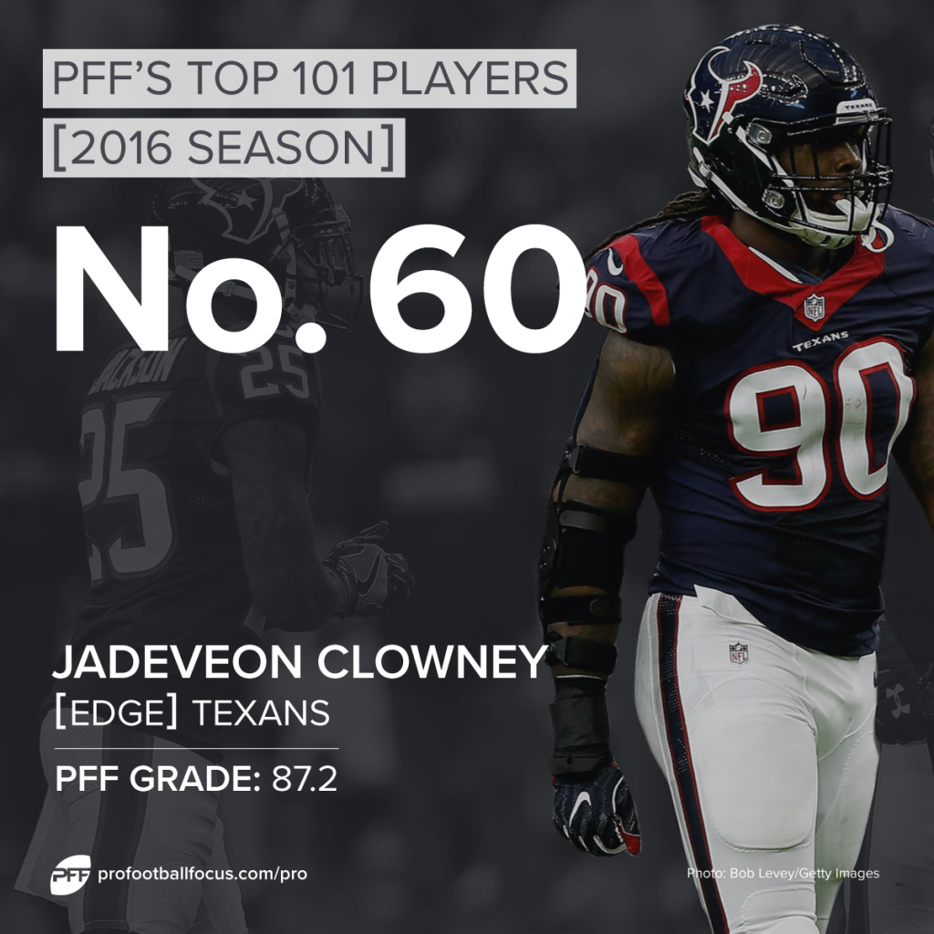 Jadeveon Clowney, Texans, Top 101