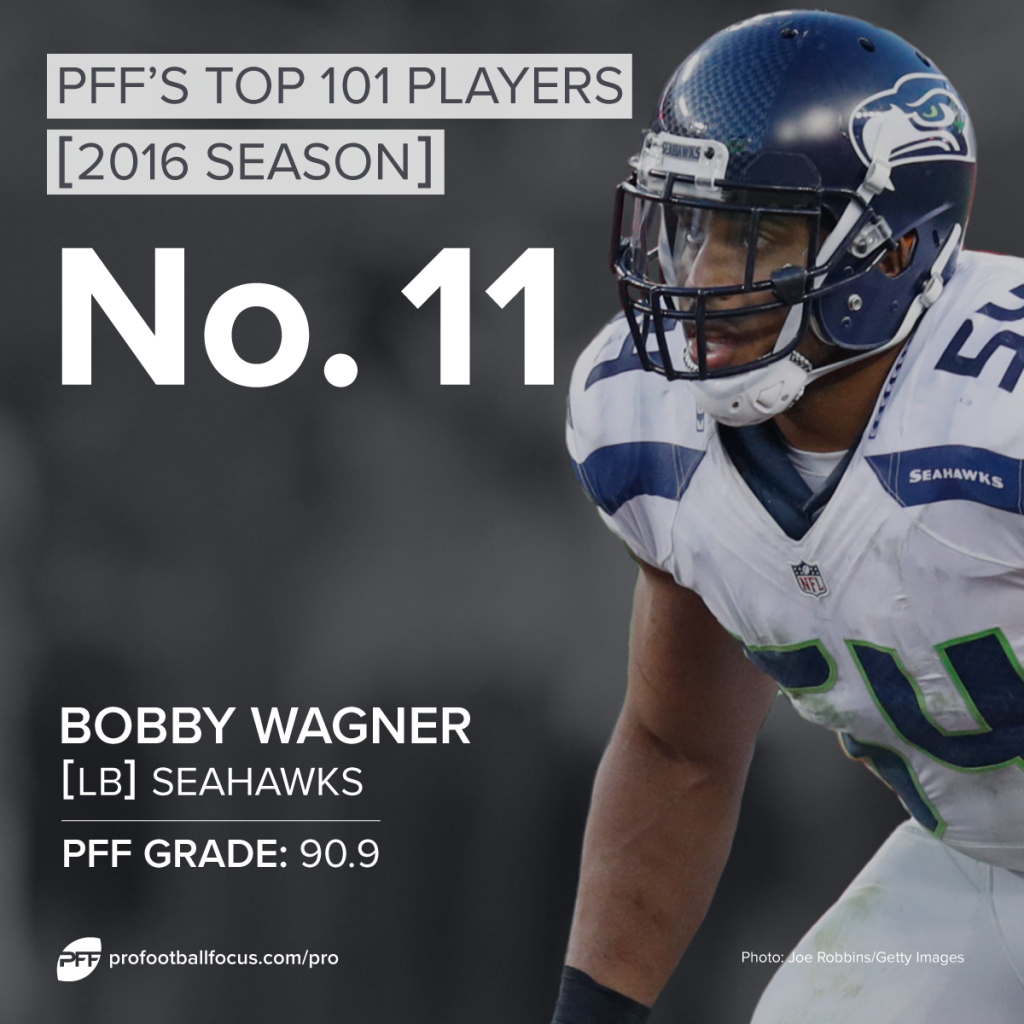 Bobby Wagner, Top 101, Seahawks