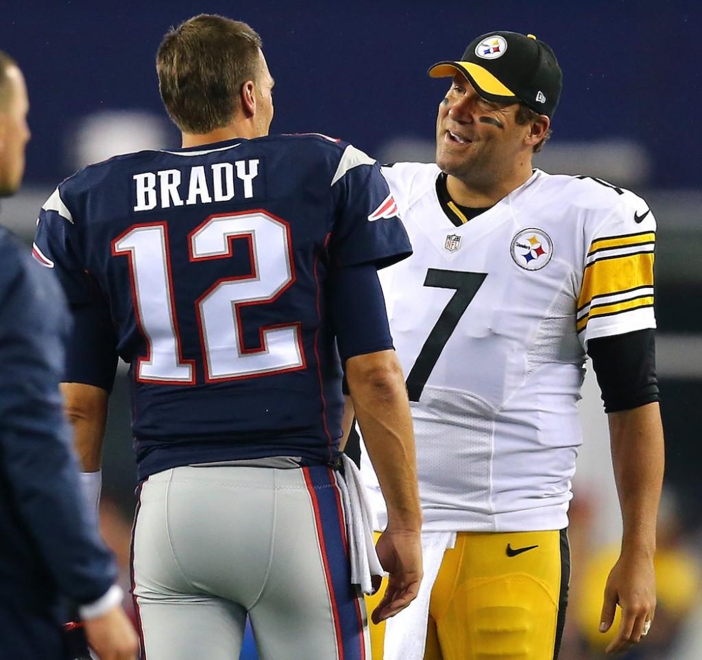 Tom Brady and Ben Roethlisberger