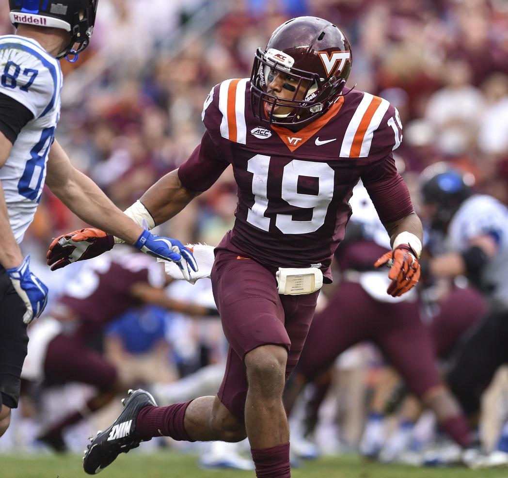 PFF scouting report: Chuck Clark, S, Virginia Tech | NFL Draft | PFF