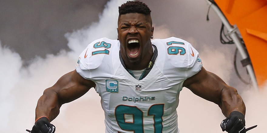 Cameron Wake Miami Dolphins DLE NFL and PFF stats