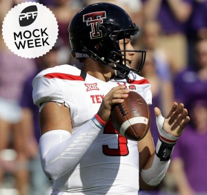 Patrick Mahomes in PFF Mock Week